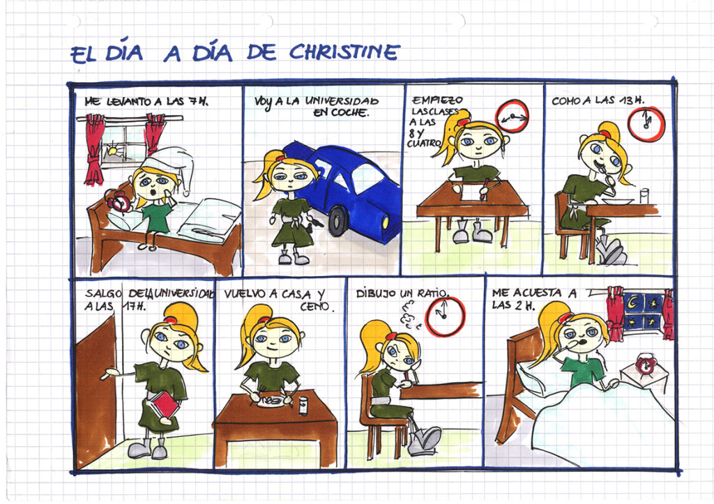 Mi día a día (Christine)